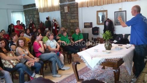 Στιγμιότυπο από τη σύσκεψη