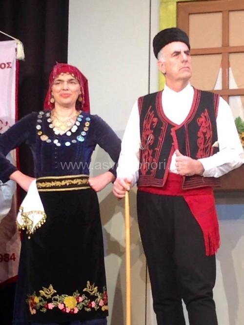 Η Βλάχικη Νυφιάτικη Λειβαδιώτικη φορεσιά Πάικου και η ανδρική
